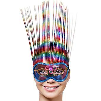 Rainbow Maske Venezia regenbogen Eyemask Augenmaske