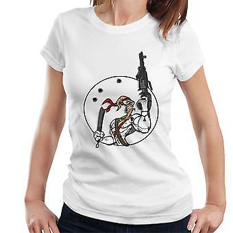 Slaget orm Earthworm Jim kvinders T-Shirt