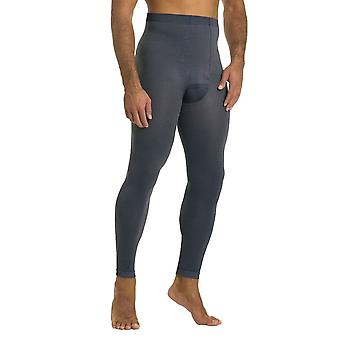 Solidea Panty Plus For Men Sports Compression Leggings [Style 302A5] Grigio Metallic (Blue Grey)  XXL