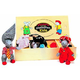 Goki Flexible puppets Mouse dress-up box, Lia & Luca