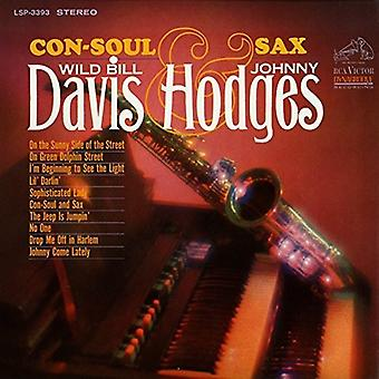 Davis, Bill / Hodges, Johnny - Con alma y Sax [CD] USA import