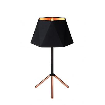 Lucide ALEGRO Table Lamp E14 Ø32cm H57cm Black