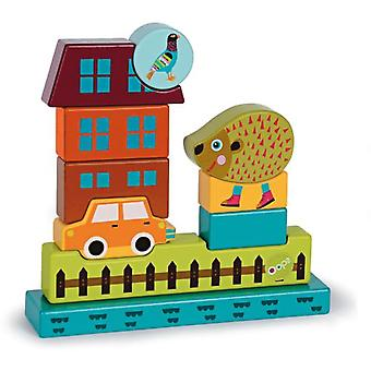 Oops Imagine Hedgehog Puzzle Wooden Toys (Toys , Preschool , Puzzles And Blocs)