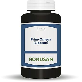 Bonusan Prim-Omega (Liposan) 80 Cap. (Vitamins & supplements , Omegas & fatty acids)