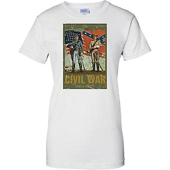 Civil War Was A Blast - American Civil War - Ladies T Shirt
