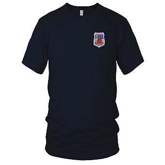 US Coast Guard USCG - C.G. Air Station Kodiak, Alaska Embroidered Patch - Mens T Shirt