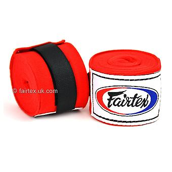 Fairtex 4.5m Stretch Hand Wraps - Red