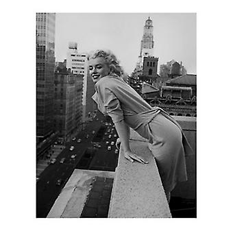 Ed Feingersh Marilyn Monroe at the Ambassador Poster Print by Ed Feingersh (15 x 19)