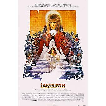 Labyrinth-Film-David Bowie-Poster-Plakat-Druck