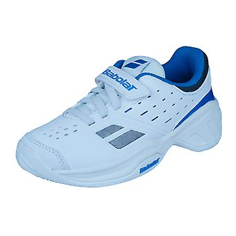 Entrenadores de tenis Junior Babolat Pulsion Kid / zapatos - blanco