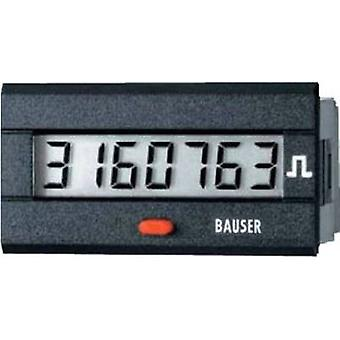 Bauser 3810.3.1.1.0.2 Digital timer or pulse counter - new! Twin solution Assembly dimensions 45 x 22 mm