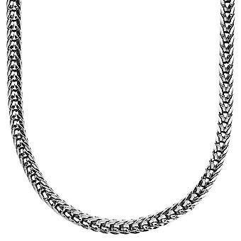 Iced out bling designer FRANCO chain - 4mm black