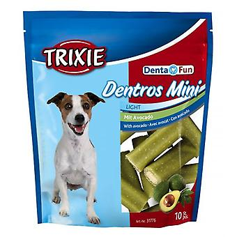 Trixie Dentros-Mini Denta Fun With Avocado, 10 Pcs (Dogs , Treats , Dental Hygiene)