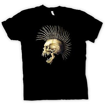 Kids T-shirt - Punk Skull With Spines