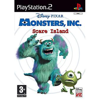 Disneys Monsters Inc. Scare Island (PS2) - Factory Sealed