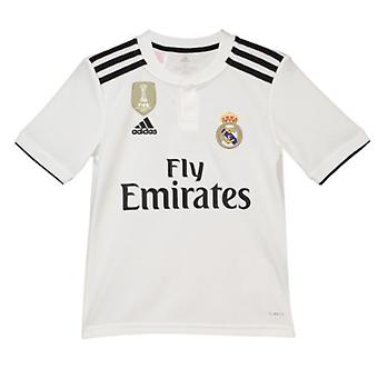2018-2019 Real Madrid Adidas Home Shirt (Kinder)