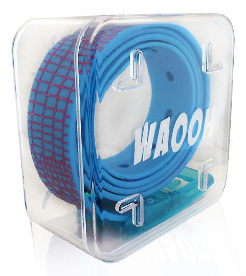 Waooh - belt plast Waooh blå/lila