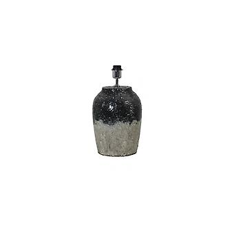 Light & Living Lamp Base Ø25X34 Cm Paridas Ceramics Black Natural