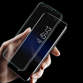 Hybrid TPU premium böjda tank diafilm för Samsung Galaxy touch 9 N960F