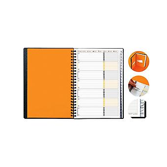 Phone/address book OXFORD A5 PP cover