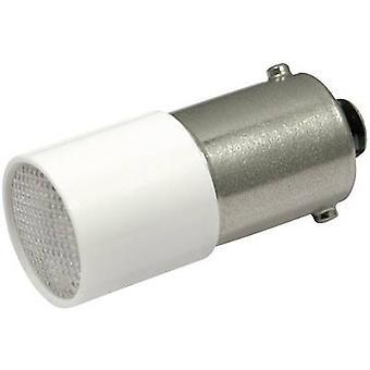 LED bulb BA9s Cold white 72 Vdc, 72 V AC 1.2 lm CML