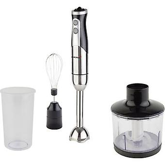 Korona Stabmixer Set Hand-held blender 800 W with blender attachment, stepless speed control Stainless steel (polished), Black