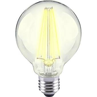Sygonix LED EEC A++ (A++ - E) E27 Globe 12 W = 98 W Warm white (Ø x L) 80 mm x 115 mm Filament 1 pc(s)