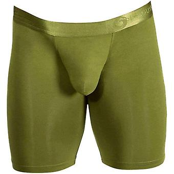 Obviously AnatoFree Spectra 2 Boxer Brief 9inch Leg - Olive Green