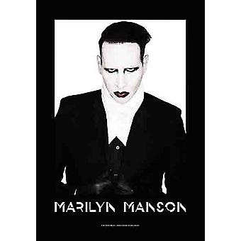 Marilyn Manson Proper Textile Poster 1100Mm X 750Mm