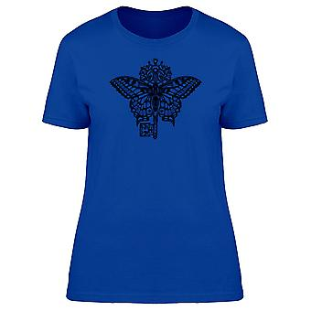 The Butterfly And The Key Tee Women's -Image by Shutterstock
