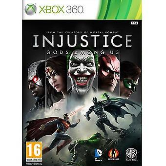 Dèi ingiustizia tra noi gioco Xbox 360