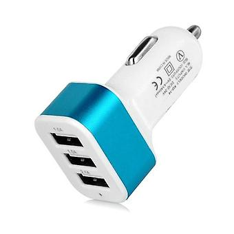 Stuff Certified ® 5-Pack High Speed ??3-Port Charger / Blue Carcharger