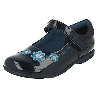 Girls Clarks Casual Shoes with Lights TrixiWhizz
