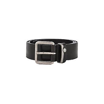 Ted Baker Mens Black Katchup Leather Belt