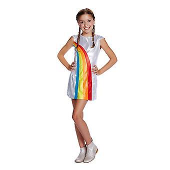 K3 Rainbow Kleid Kleid 6-8 Jahre