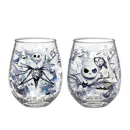 Christmas Wine Set Before Stemless Nightmare 20 Ounce Glass jAcL3Rq54
