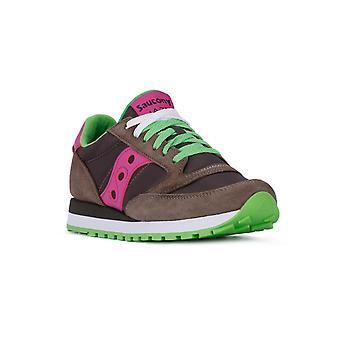 Saucony jazz donker grijs roze fashion sneakers
