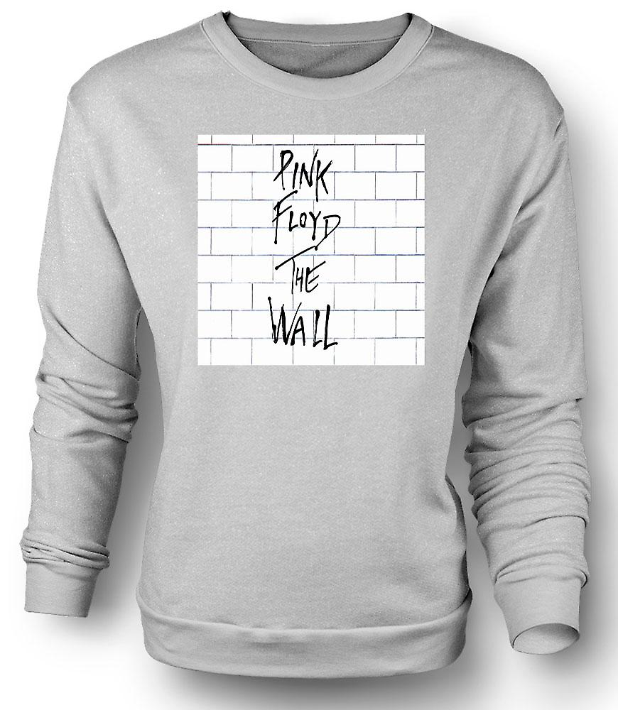 Mens Sweatshirt Pink Floyd - The Wall - Album Cover