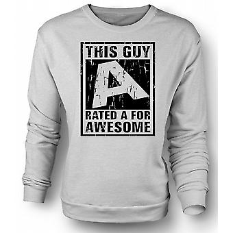 Kids Sweatshirt This Guy Rated A For Awesome