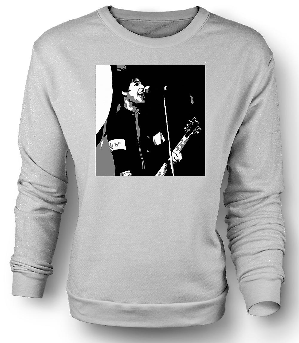 Mens Sweatshirt Green Day - Billy Joel - BW