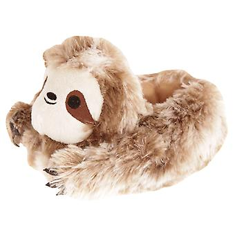 Slumberzzz Childrens/Kids Sloth Slippers