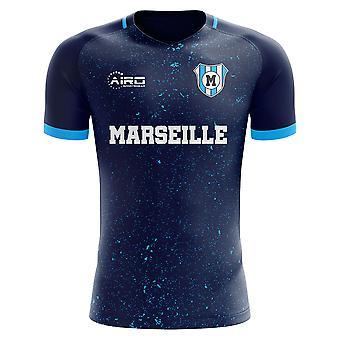 2019-2020 Марсель третья концепция футболка