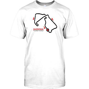 Silverstone Grand Prix Circuit - GP F1 barn T Shirt