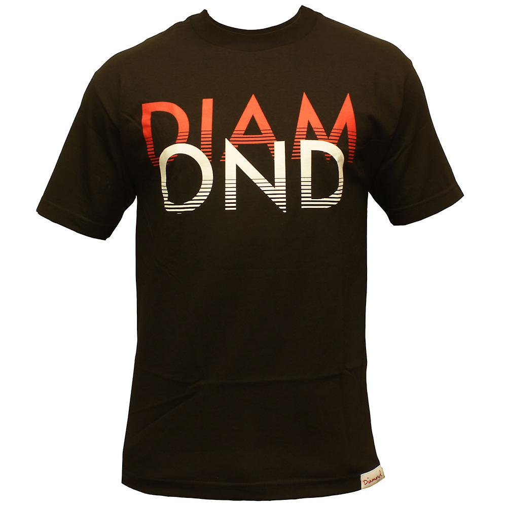 Blanco diamante fuente Co arenas camiseta negro
