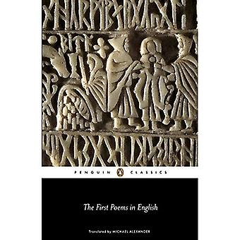 The First Poems in English (Penguin Classics)