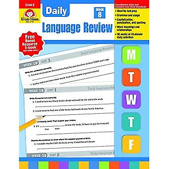 Daily Language Review, Grade 8