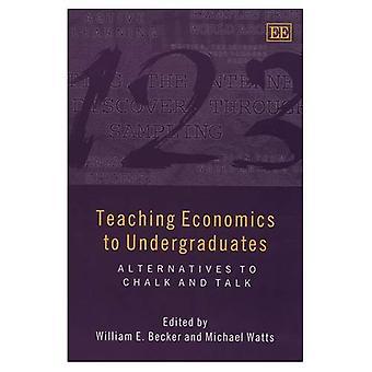 Enseñanza de economía para estudiantes universitarios: alternativas a la tiza y hablar