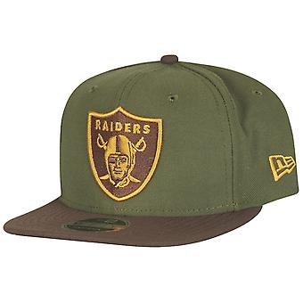 Ny æra opprinnelige-fit Snapback Cap - Oakland Raiders Green