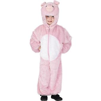Childrens Cute Pig Fancy Dress Costume