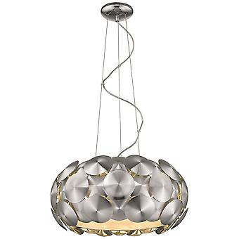 Spring Lighting - Chester Large Chrome Six Light Pendant  IPMX050DI6EFDP